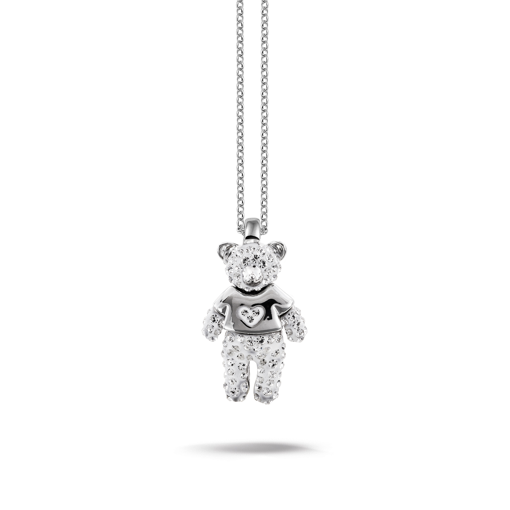bear cute rhodium sj necklace shining dp pendant plated amazon teddy in jewel romantic jewellery
